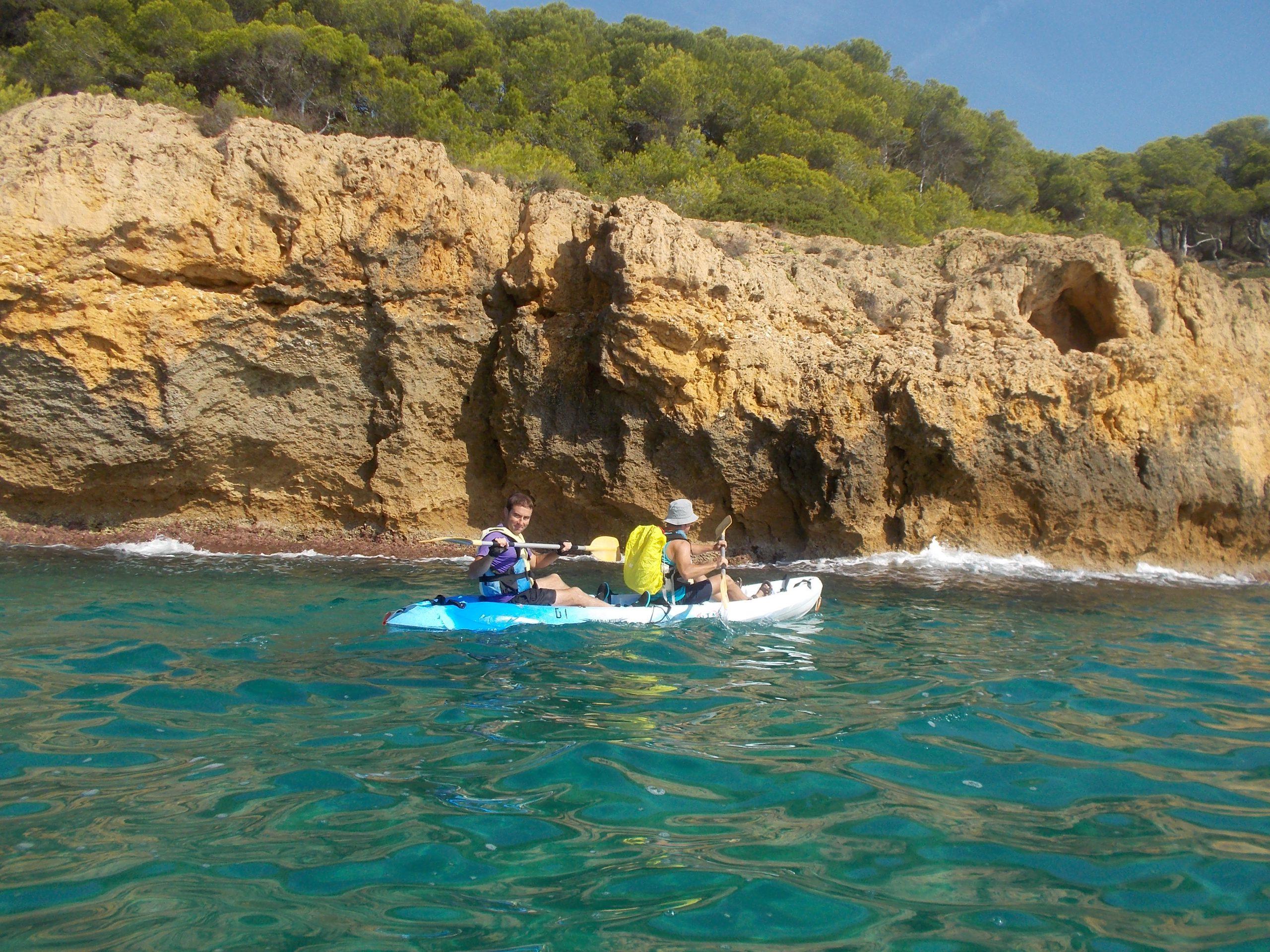 En piragua a Tarragona